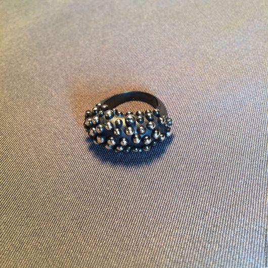 """Кольца ручной работы. Ярмарка Мастеров - ручная работа. Купить Необычное серебряное кольцо """"Ежевика"""". Handmade. Ежевика, необычное кольцо"""