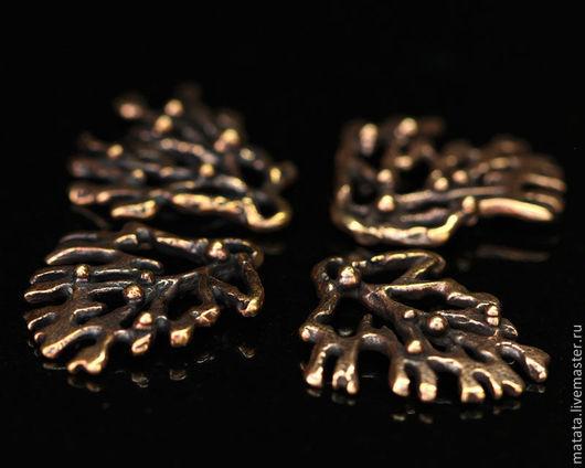 Для украшений ручной работы. Ярмарка Мастеров - ручная работа. Купить Мхи и травы 2859-350 (4). Handmade. Бронза