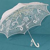 Свадебный салон handmade. Livemaster - original item Wedding umbrella Butterflies. Handmade.