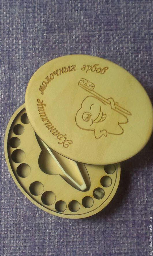 Шкатулки ручной работы. Ярмарка Мастеров - ручная работа. Купить Деревянная шкатулка Хранилище молочных зубов. Handmade. Шкатулка, подарок