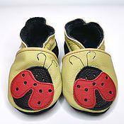 Одежда детская handmade. Livemaster - original item Baby Shoes,Leather Baby Shoes,Ebooba,Baby Moccasins. Handmade.