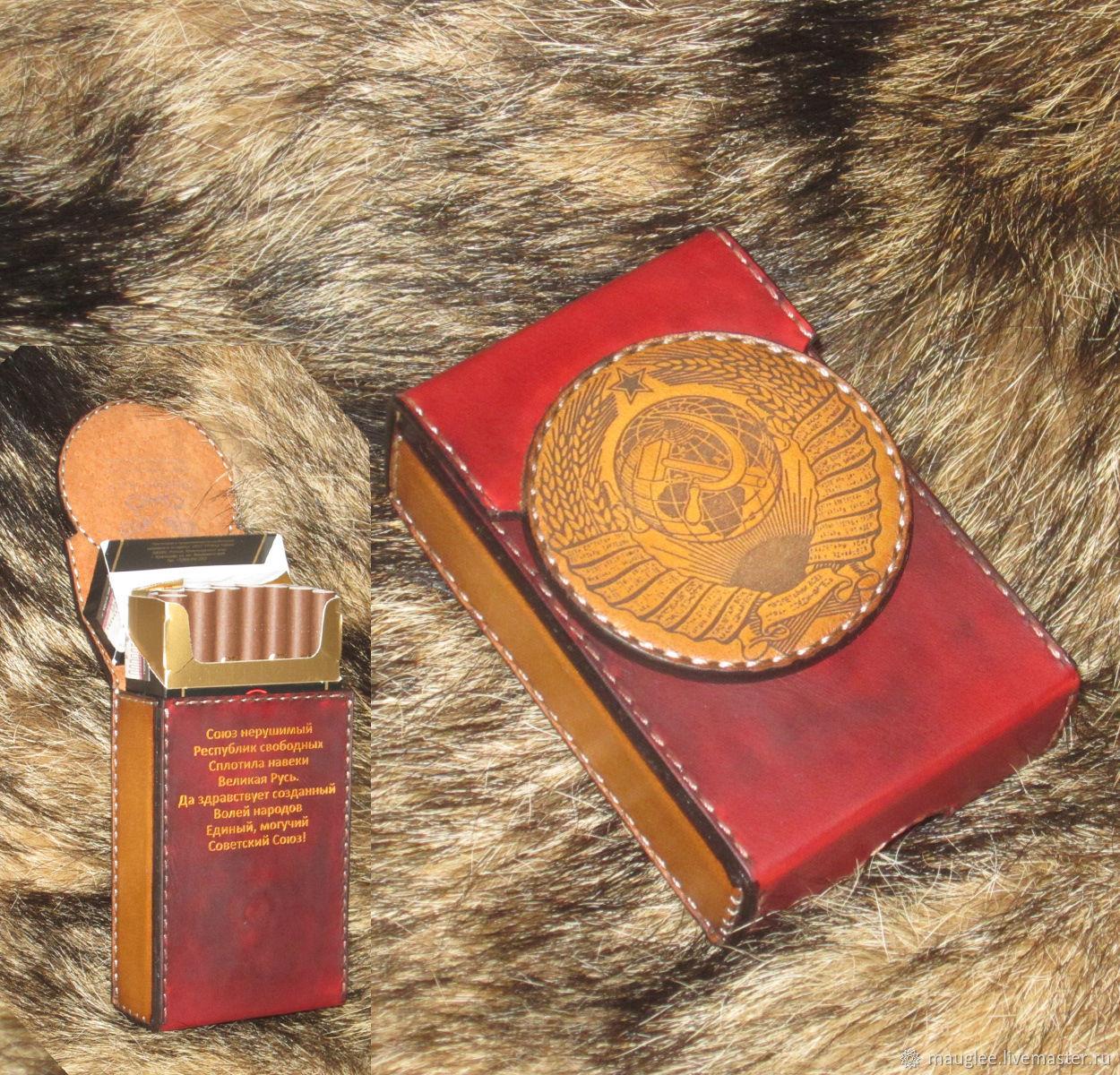 Cigarette case. sigaretta. USSR, Case, Nizhnij Tagil,  Фото №1