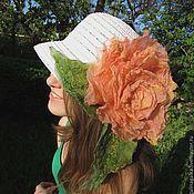 """Украшения ручной работы. Ярмарка Мастеров - ручная работа """"Чайная Роза"""" Брошь на шляпку. Handmade."""