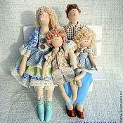 Куклы и игрушки ручной работы. Ярмарка Мастеров - ручная работа Тильдосемья. Handmade.
