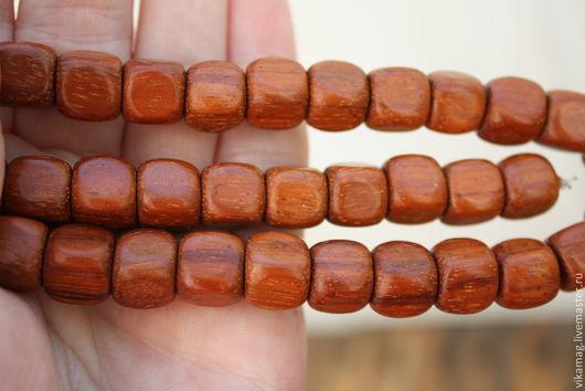 Для украшений ручной работы. Ярмарка Мастеров - ручная работа. Купить Байонг, кубик  10 мм. Handmade. Деревянные бусины