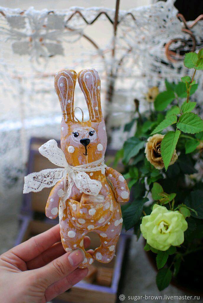 Заяц Ирискин, Мягкие игрушки, Санкт-Петербург,  Фото №1