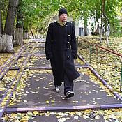 Одежда ручной работы. Ярмарка Мастеров - ручная работа Мужское вязаное пальто 101. Handmade.