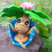 Куклы и игрушки ручной работы. Ярмарка Мастеров - ручная работа Мандрагорка 12 см. Handmade.