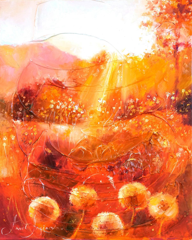 Медовая осень - картина маслом, Картины, Москва,  Фото №1