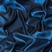 Материалы для творчества handmade. Livemaster - original item Fabric: Lurex silk-blue. Handmade.