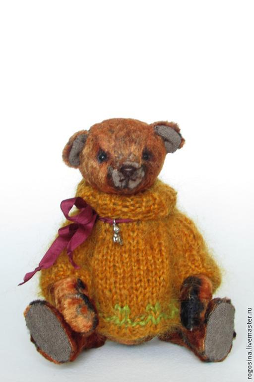 Мишки Тедди ручной работы. Ярмарка Мастеров - ручная работа. Купить Мишка тедди Кузя 17 см. Handmade. Рыжий