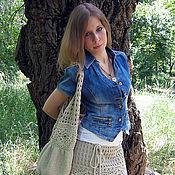 """Одежда ручной работы. Ярмарка Мастеров - ручная работа Бохо юбка """"Boxo style"""". Handmade."""