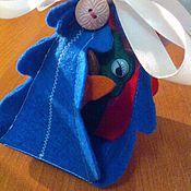 """Куклы и игрушки ручной работы. Ярмарка Мастеров - ручная работа Пальчиковый театр """"Лесная опушка"""". Handmade."""