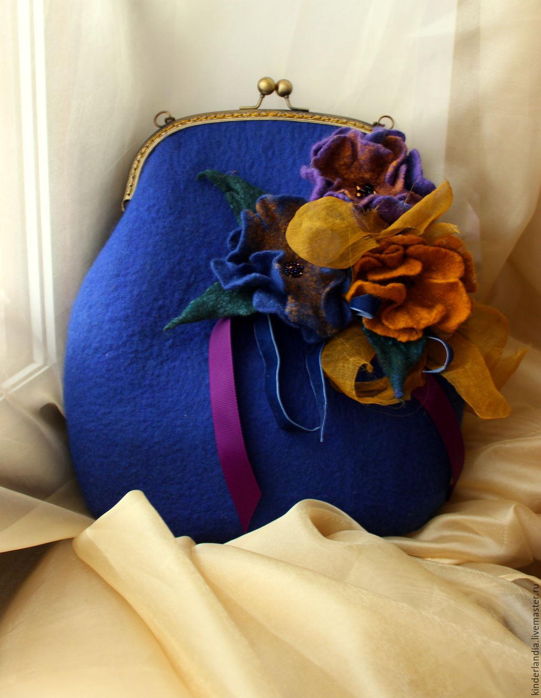 bag felted jacqueline, Classic Bag, St. Petersburg,  Фото №1