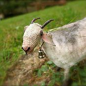 Куклы и игрушки ручной работы. Ярмарка Мастеров - ручная работа коза Молочная. Handmade.
