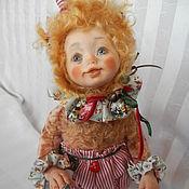 """Куклы и игрушки ручной работы. Ярмарка Мастеров - ручная работа Тедди-долл кошечка """"Бонбон"""". Handmade."""