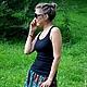 Юбки ручной работы. Ярмарка Мастеров - ручная работа. Купить Эксклюзив - Две юбки в одной (2 в 1) из итальянской вискозы. Handmade.