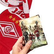 Канцелярские товары handmade. Livemaster - original item Passport cover or avtodokumentov, the series