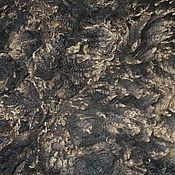 Шерсть-сырец ягнят Коридейла №2, коричневый мультиколор 250 грамм