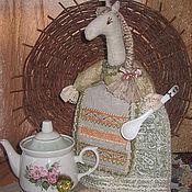 """Грелки на чайник ручной работы. Ярмарка Мастеров - ручная работа Грелка на чайник """"Лошадка"""". Handmade."""