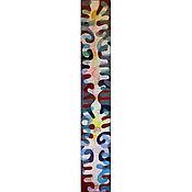 """Картины и панно ручной работы. Ярмарка Мастеров - ручная работа """"Растительный мотив"""". Handmade."""