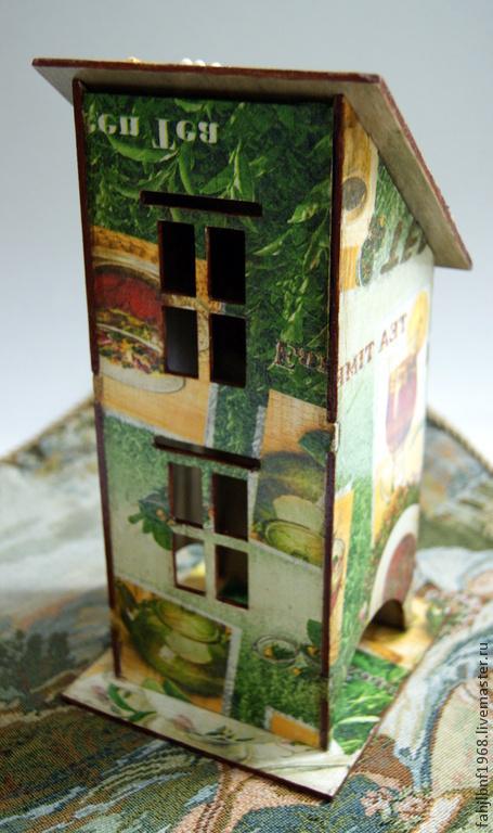 """Кухня ручной работы. Ярмарка Мастеров - ручная работа. Купить Чайный домик """"Время чая"""". Handmade. Чайный домик"""