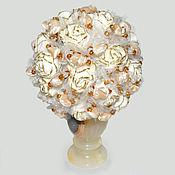Цветы и флористика handmade. Livemaster - original item Flowers mother of pearl