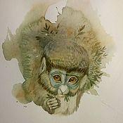Картины и панно ручной работы. Ярмарка Мастеров - ручная работа Зов джунглей. Handmade.