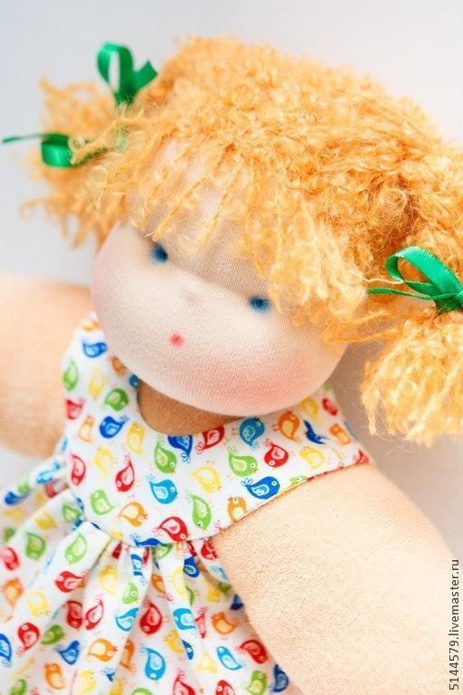 """Вальдорфская игрушка ручной работы. Ярмарка Мастеров - ручная работа. Купить Вальдорфская кукла """"Обнимашка"""". Handmade. Вальдорфская кукла, кукла"""