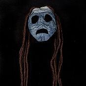 Подарки к праздникам ручной работы. Ярмарка Мастеров - ручная работа маска Джинн. Handmade.