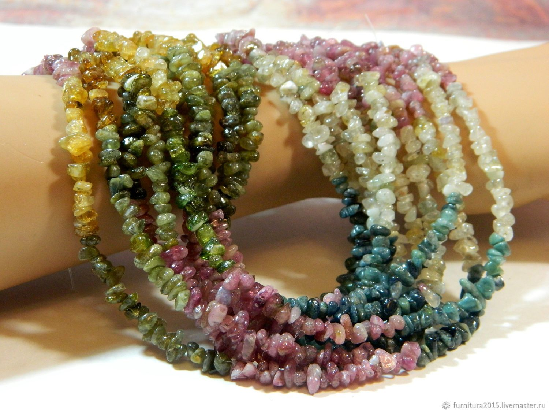 A copy of the product Tourmaline crumb stone. thread, Beads1, Saratov,  Фото №1