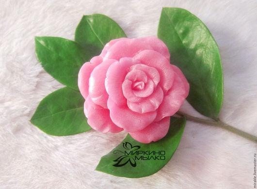 Мыло ручной работы. Ярмарка Мастеров - ручная работа. Купить Мыло Роза махровая. Handmade. Фуксия, роза, розовые цветы