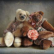 """Куклы и игрушки ручной работы. Ярмарка Мастеров - ручная работа Пара коллекционных медведей """"Ромео и Джульетта"""". Handmade."""