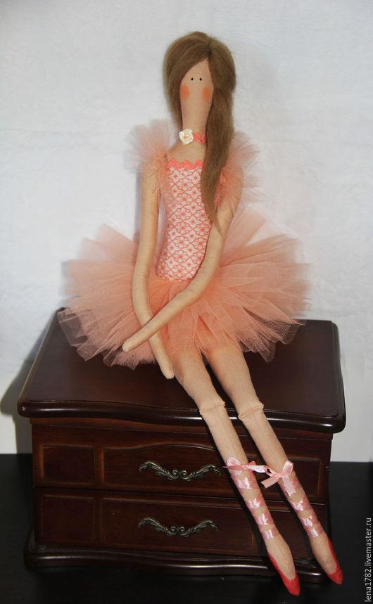 Балерина в стиле тильда. Купить балерину. E_TILDA HOME. HANDMADE
