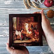 Для дома и интерьера handmade. Livemaster - original item Tea box pencil case