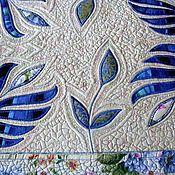 """Для дома и интерьера ручной работы. Ярмарка Мастеров - ручная работа Дорожка на стол """"Синий цвет"""". Handmade."""