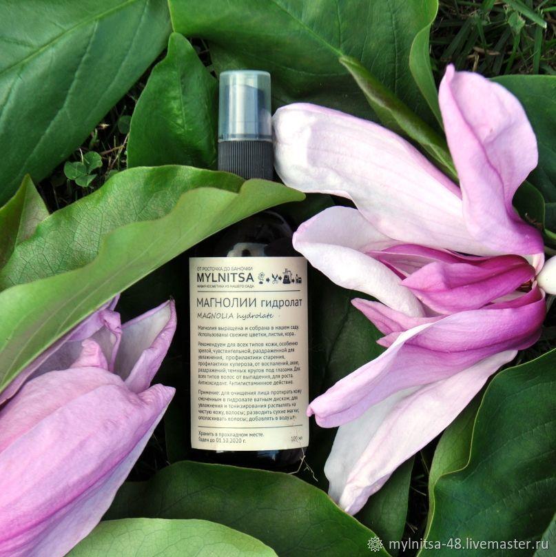 Magnolia hydrolat 2019. Antioxidant. Lifting. strengthening the hair, Tonics, Lipetsk,  Фото №1