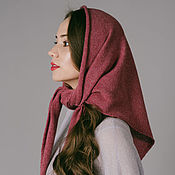 Аксессуары handmade. Livemaster - original item scarves: Scarf knitted cashmere. Handmade.