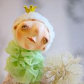 Куклы и игрушки ручной работы. Ярмарка Мастеров - ручная работа Одуванчик. Handmade.