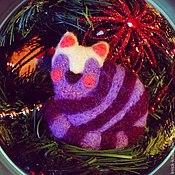 Украшения ручной работы. Ярмарка Мастеров - ручная работа Спящий котик. Handmade.