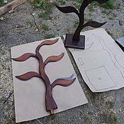 Дизайн и реклама handmade. Livemaster - original item Stand for earring Tree 40 cm. Handmade.