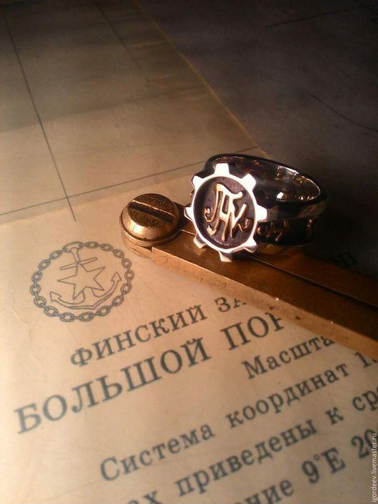 Украшения для мужчин, ручной работы. Ярмарка Мастеров - ручная работа. Купить Мужские кольца из золота и серебра. Handmade. Мужской подарок