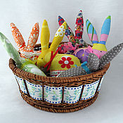 Подарки к праздникам handmade. Livemaster - original item Easter bunnies. Handmade.
