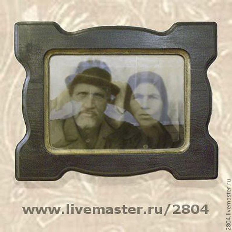 Фоторамка под старину сибирский колизей