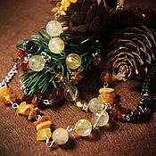 Украшения ручной работы. Ярмарка Мастеров - ручная работа Янтарные браслеты. Handmade.