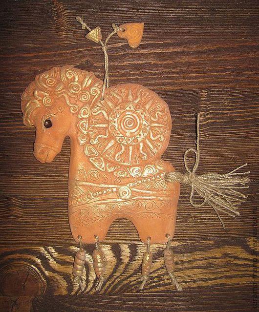 """Обереги, талисманы, амулеты ручной работы. Ярмарка Мастеров - ручная работа. Купить """"Коник"""" Славянский оберег. Handmade. Конь"""