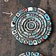 """Кулоны, подвески ручной работы. Заказать подвеска """"Вселенная"""". Ceramic Tales by Valentina Fadeeva. Ярмарка Мастеров. Космос, Керамика"""