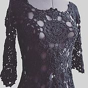 Платье Черная нимфа