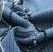 Одежда ручной работы. Ярмарка Мастеров - ручная работа Платье в рубчик. Handmade.