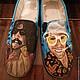 """Обувь ручной работы. Ярмарка Мастеров - ручная работа. Купить Обувь  """" Страх и ненависть в Лас-Вегасе"""". Handmade. Обувь"""